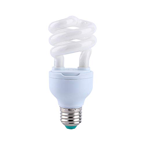 13W UVB 5.0 E27 Base Energy Saving Tortoise Snake Reptile Light Bulb UV Lamp HG, Energy Saving Lamp