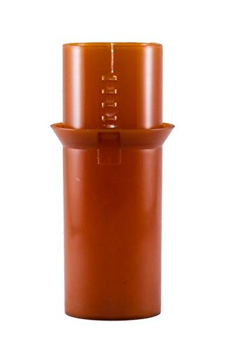Safe Rx Locking Pill Bottle - Fixed Combination Lock - Child Resistant, Tamper Evident, Senior Friendly (Large, Amber) by Safe Rx (Image #2)