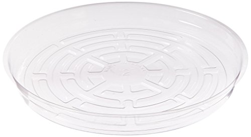 Hydrofarm HGS12 Clear 12-Inch Saucer, Pack of 10