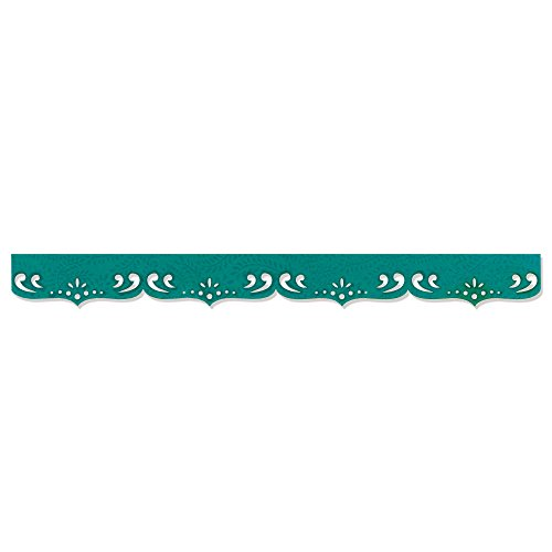Sizzix 657387 Sizzlits Decorative Strip Die, Fancy Scallops by Dena Designs, Multicolor