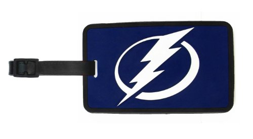 Tampa Bay Lightning - NHL Soft Luggage Bag Tag - Tampa Bay Lightning Window