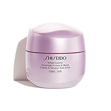 קרם לילה ומסכה וויט לוסנט White Lucent Overnight Cream & Mask Shiseido