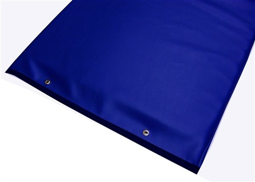 Imaging and Stretcher Table Pads - 1'' Standard Comfort Foam, Various Colors, 72'' x 23-1/2'' x 1'', Blue