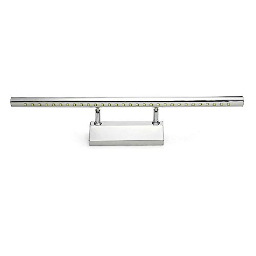 Aplique LED de 7w y 30 LED CroLED para baño, luz blanca