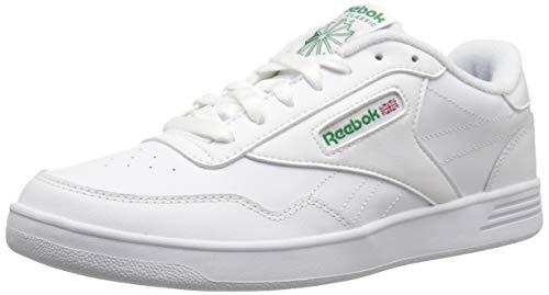 (Reebok Men's Club MEMT Sneaker White/Glen Green 3.5 M US)