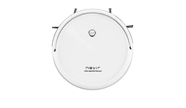 Nevir Aspirador Robot NVR-5600 RA Blanco: Amazon.es: Hogar