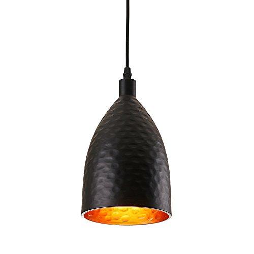 Black Pendant Light Shade - 4