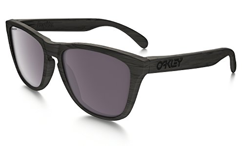 Oakley Frogskins Sunglasses Woodgrain with Prizm Daily Polarized - Original Oakley Frogskins