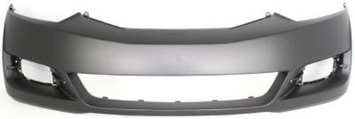 Crash Parts Plus Primed Front Bumper Cover Replacement for 2009-2011 Honda Civic Coupe ()