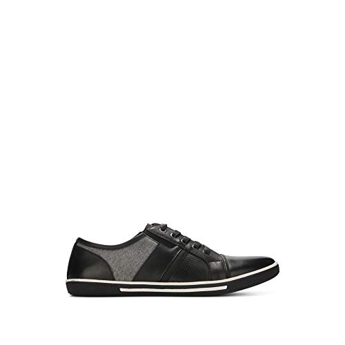 Reaction Kenneth Cole Tie And Crown Mixed Media Sneaker - Mens