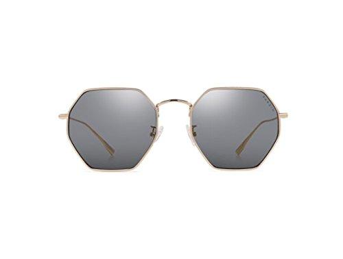 NHDZ Frame De De Dihuang De Frame Espejo Marco Dorado Metal Colorido Multi Mujer Película Gafas Moda Conducción Gold Sol Tabletas Gafas Street rWFrp1fq