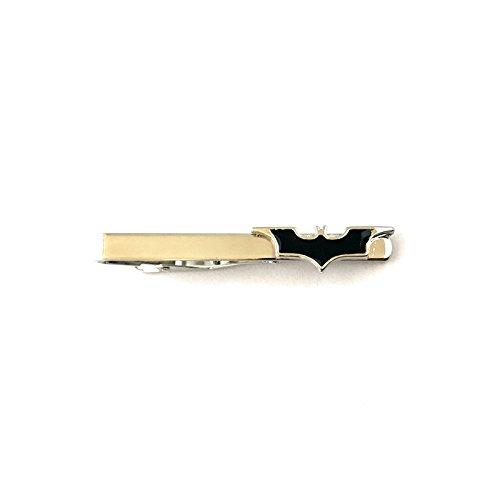 Classic Batman Silver Tone Tie Clip w/Gift Box -