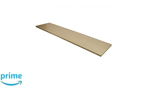 12 x 48 NAHANCO M1248 Square Edge Shelves Maple Pack of 4