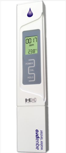 picture of HM Digital AP-1 AquaPro Water Quality Total Dissolved Solids Tester, 0-5000 ppm TDS Range, 1 ppm Resolution, +/- 2% Readout Accuracy (Magnetic Body)