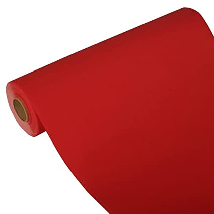 papstar runner  Papstar, Runner, Tissue Royal Collection 24 m X 40 cm Rosso, 84312 ...