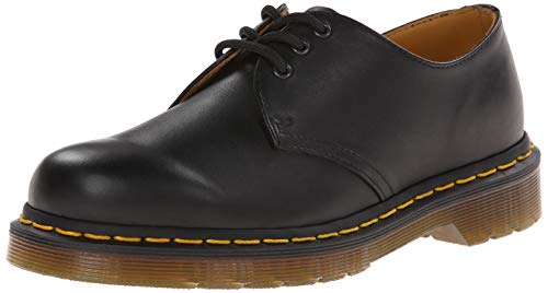 - Dr. Martens Women's 1461 3 Eye Oxfords, Black, 11 M US