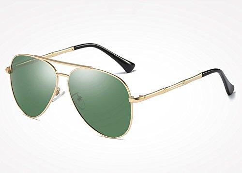 green de Sunglasses hombre hombres plata Retro tonos TL sol de gafas Gafas masculinos UV400 gris sol Vintage gold Drive para gafas Rdw7qzgIx