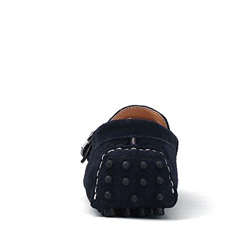 da Uomo Fibbia Casuale Barca Icegrey Pelle Pantofola Driving Blu con Scarpe Mocassini Scamosciata vqRq5wB