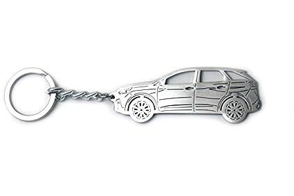 Llavero con anillo para Peugeot 3008 II 2017 - Llavero de ...