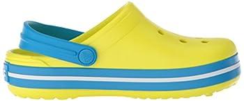 Crocs Kids' Crocband K Clog,tennis Ball Greenocean,9 M Us Toddler 9