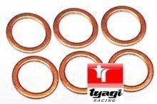 Tyagi Racing 8 x 14 x 1 Copper Washer Sealing Washers 8mm x 14mm x 1
