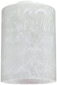 Westinghouse Lighting Corp 8570100 4-3 4 Inch Ice Cylinder Shaped Glass Shade