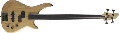 Stagg BC300FL Fretless 4-String Fusion Electric Bass Guitar - Natural from Stagg