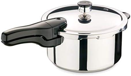 Presto 01341 4-Quart Stainless Steel Pressure Cooker Renewed