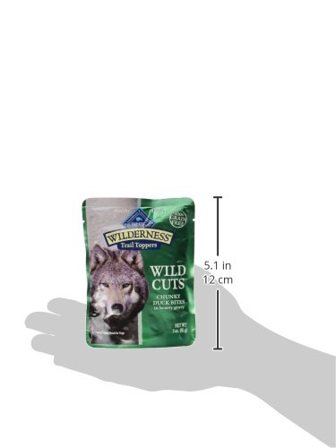Blue Buffalo Wilderness Trail Toppers Chunky Duck Bites Dog Food, 24 By 3 Oz. by Blue Buffalo (Image #4)