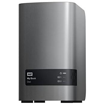 WD 4TB My Book Duo Desktop RAID External Hard Drive - USB 3.0 - WDBLWE0040JCH-NESN