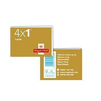 4 x Letter 1st Class First Class Stamps Royal Mail Post