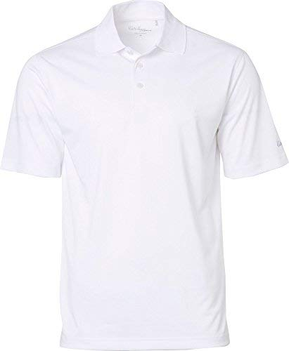 Walter Hagen Men's Essentials Textured Golf Polo, (White, for sale  Delivered anywhere in USA