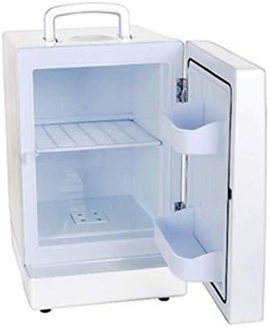 省エネ冷凍庫コンパクト車両車ミニ冷蔵庫電気クーラー、車と家(クローム、ホワイト、牛)の13.8 L電気クーラー