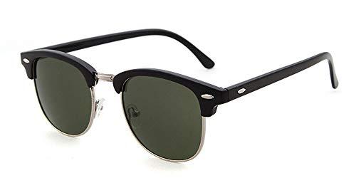 vidrios Las Medio Unisex Eyewears de Leopardo de G la Gafas Vendimia Ventas de Lujo Mujeres Calientes los de de conducción de Gafas Sol A Manera Hombres la de sin KOMNY Montura fIwqpvW