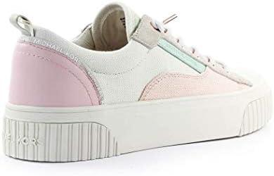 Michael Kors Luxury Fashion 43S0OSFS3D141 - Sneakers da donna, in tessuto, colore: bianco