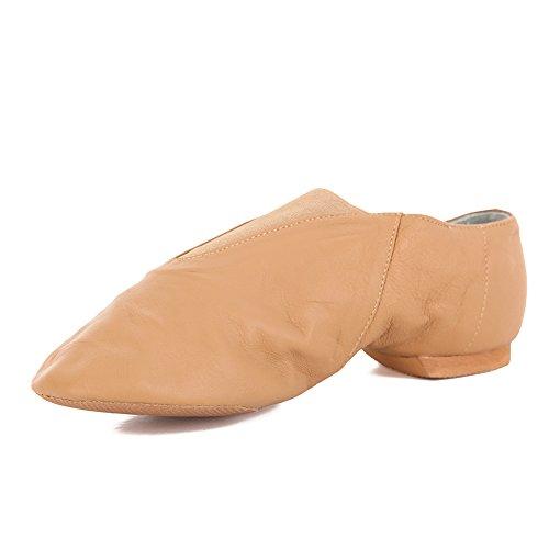 Factory Second Slip On Jazz Shoe Tan