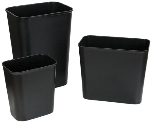 Carlisle 34291503 BMC Fire Resistant Wastebasket, 13qt Capacity, 11-1/8