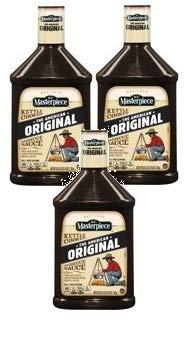 KC Masterpiece Original Barbecue Sauce, 63 oz (Pack of 3)