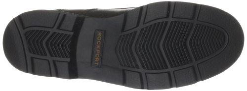 hombre Rockport de cuero Zapatos Charlesview clásicos para Chocolate Braun Plainfield Marrón K71052 Pine 4nrzx4