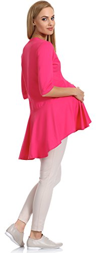 Be Mammy Maternidad Túnica para mujer 163 Amaranth