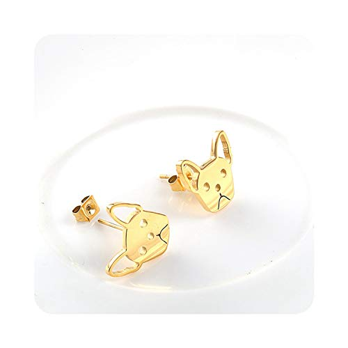 Fashion Cut Domestic French Bulldog Stud Earrings Simple for sale  Delivered anywhere in Canada