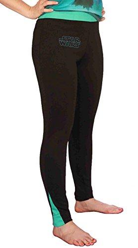 Her Universe Star Wars Turquiose Logo Women's Leggings (Medium) ()