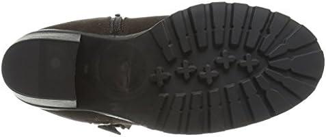 7f05c773f9d3a Soda Women's Daily-S Boot, Brown Nubuck Polyurethane, 7 M US: Amazon.com