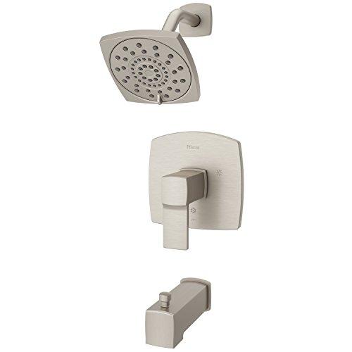 Pfister LG89-8DAK Deckard Tub and Shower Trim, Brushed Nickel