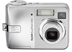 Kodak Easyshare C330 4 MP Digital Camera with 3xOptical Zoom (OLD MODEL)
