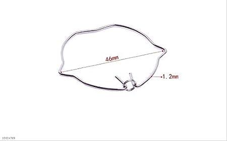 Taille : 46x1.2mm F-MINGNIAN-SPRING 10pcs 50 mm Lampe DE RETENUE Clips Ring MR11 MR16 GU10 Spot Light Downlight