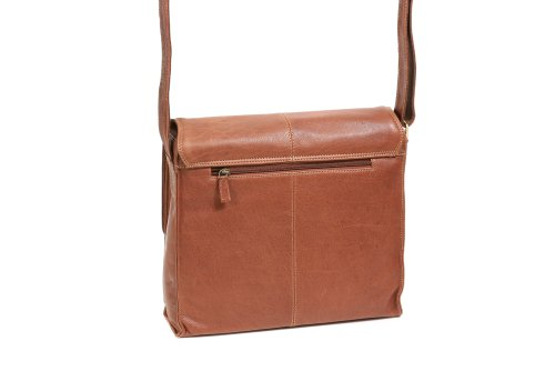 Borsa Lavoro Leas By Cb Vera Pelle Cognac - Classic Bags
