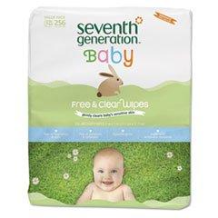 Seventh Generation Baby Wipes Refill Fr&Clr