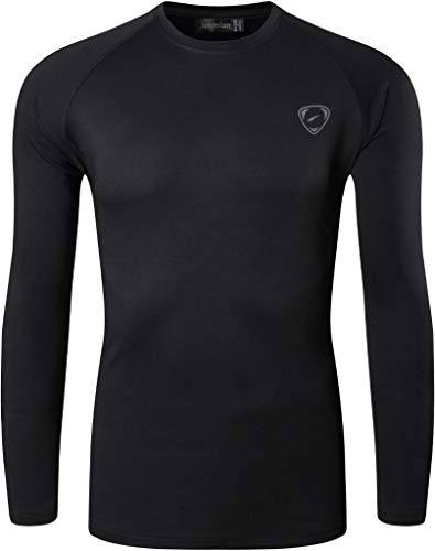 jeansian Men's 3 Packs UPF 50+ UV Sun Protection Outdoor T-Shirt LA245