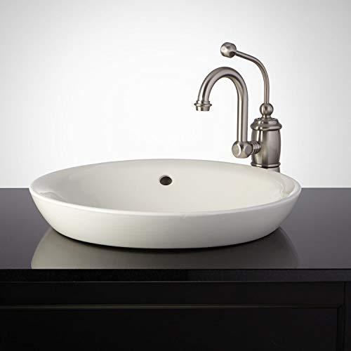 Drop In Bathroom Sink Biscuit - Signature Hardware 362496 Milforde 17